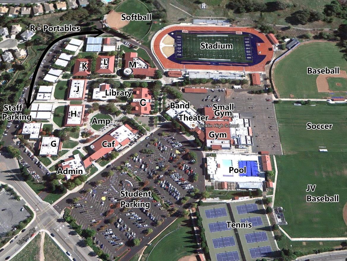 sierra college rocklin campus map Rocklin High School Map sierra college rocklin campus map